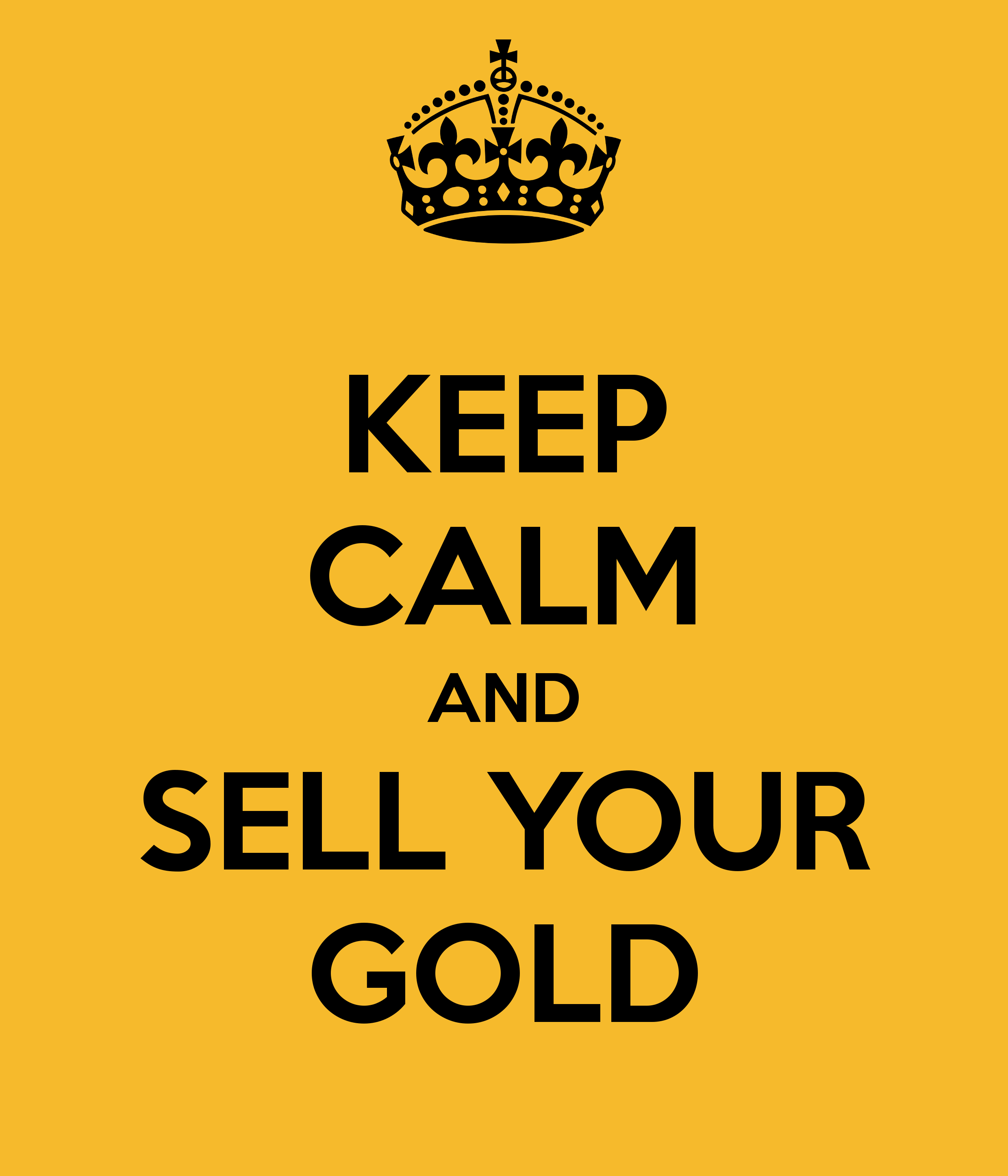 Analysts Advising Traders To Sell Gold Into The Rally