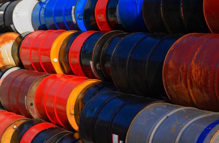 Crude Plunges on Surprise Inventories Build