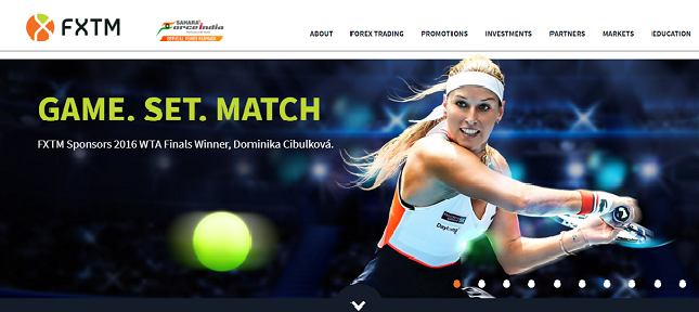 Top FX Broker Inks Deal with Tennis Champ