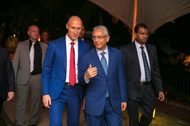 Gala Reception Held in Mauritius to Mark Alpari's 4th Anniversary in the Region Attended by Top Government Representatives