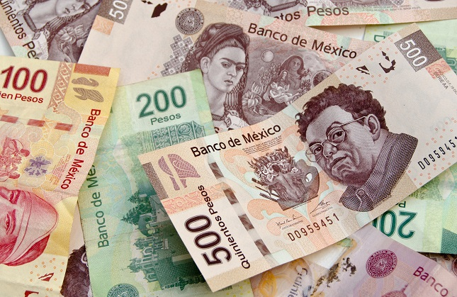 USD/MXN Breaks the Triangle but has 38.2% Ahead