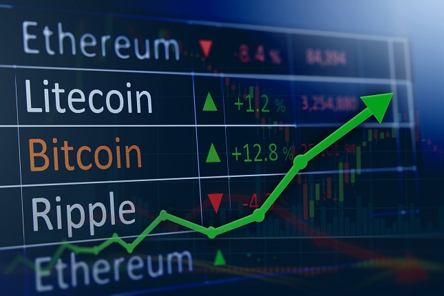 Crypto Update: Reversal off Lows for Cryptocurrencies Builds