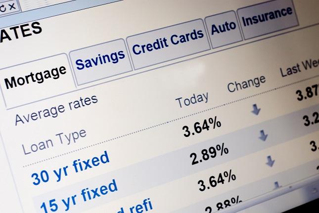 U.S Mortgage Rates – Onwards and Upwards
