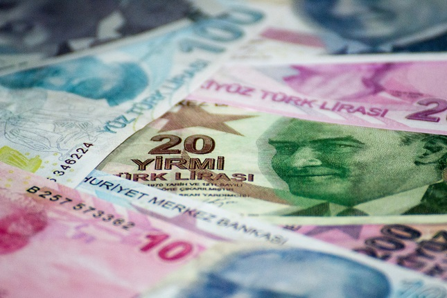 Turkish lira…And down it goes