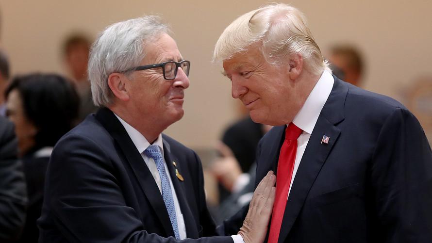 Trump-Juncker Meeting in Focus, Lira Crumbles