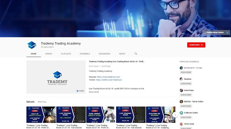 Trademy – Becoming a Professional Trader