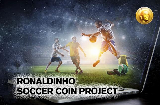 RSC Endorsed by Soccer Legend Ronaldinho Launches Crowdsale