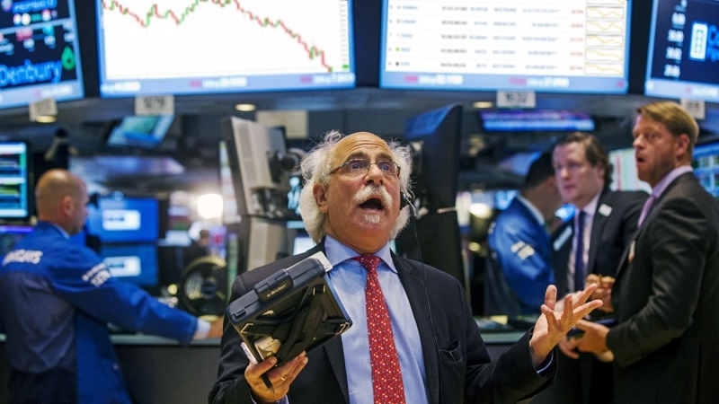 Trader shock