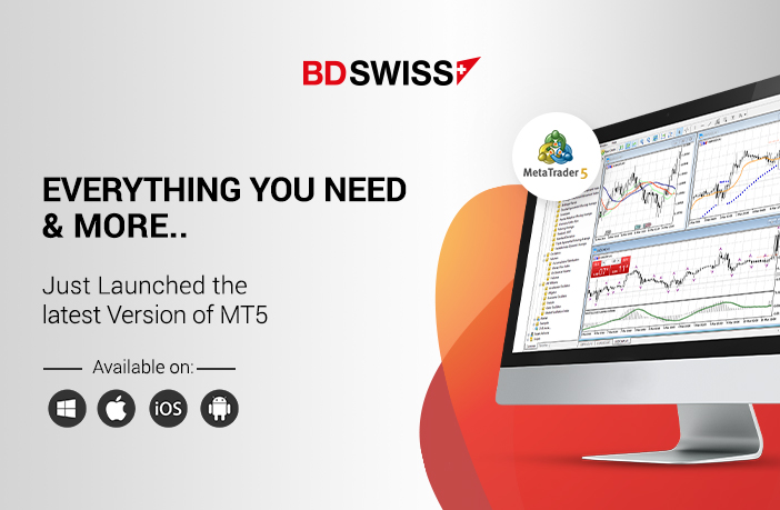 BDSwiss Launches the Latest Version of MetaTrader 5 (MT5)