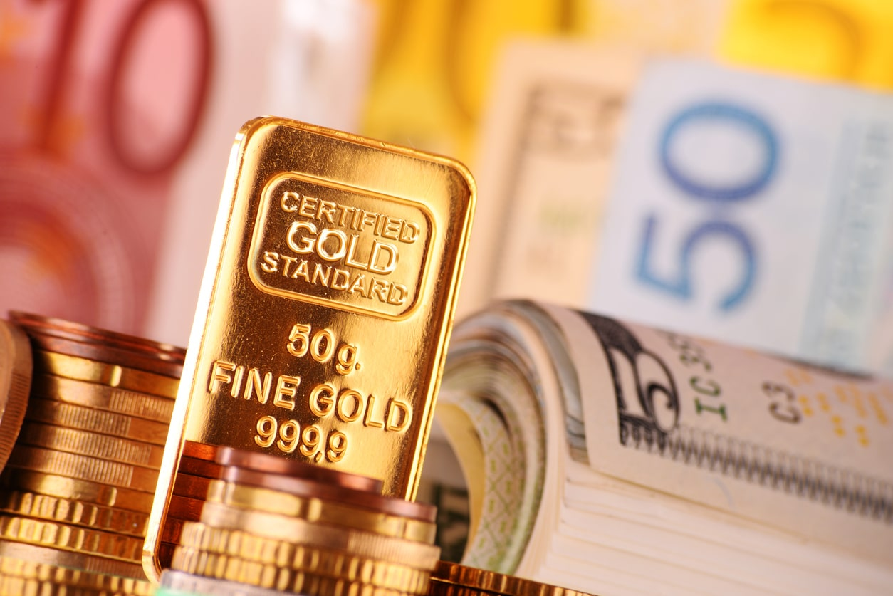 Precious Metals Down On Monday Amid Risk Appetite