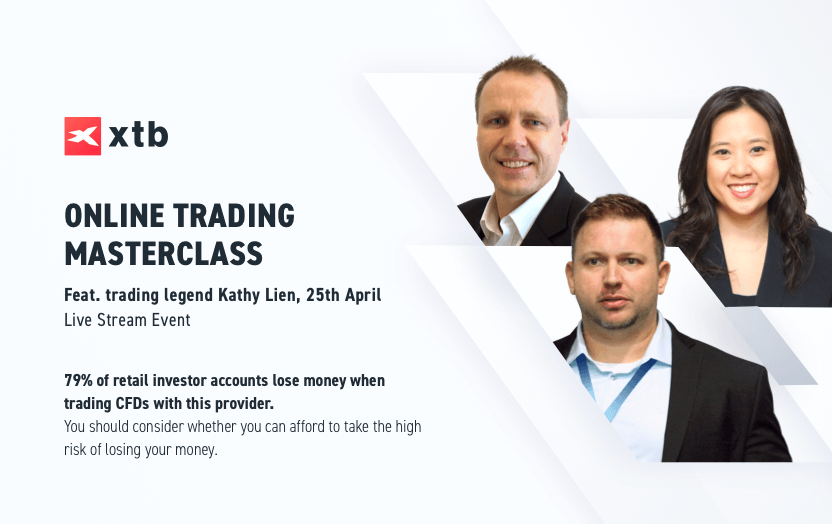 XTB Launches Online Trading Masterclass with 10 Trading Legends