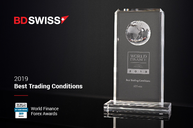 BDSwiss Receives Best Trading Conditions 2019 Award by World Finance