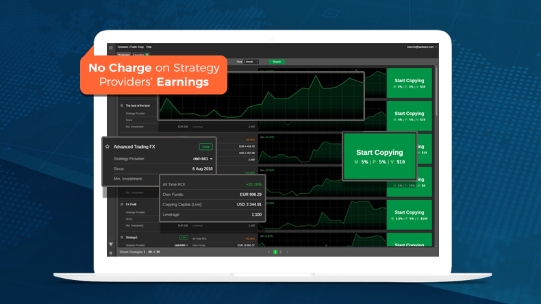 Spotware Removes Charge on Commissions in cTrader Copy