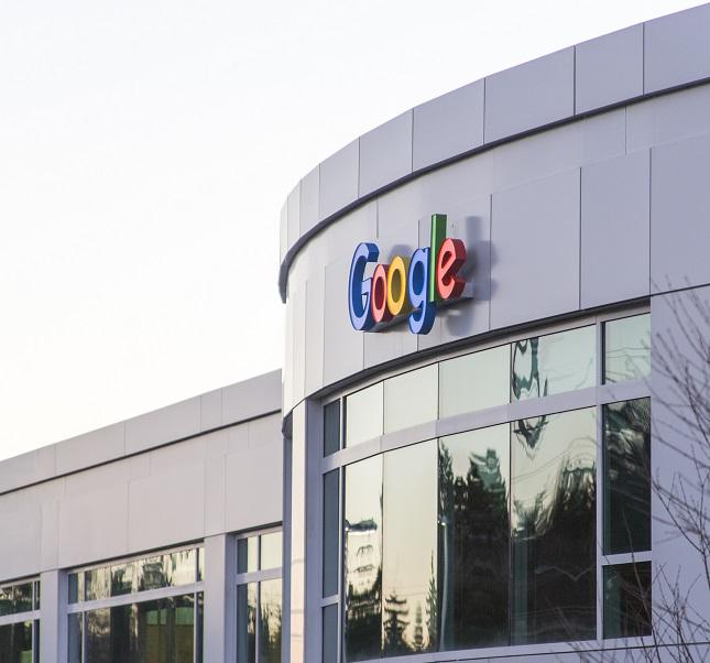 A Google building