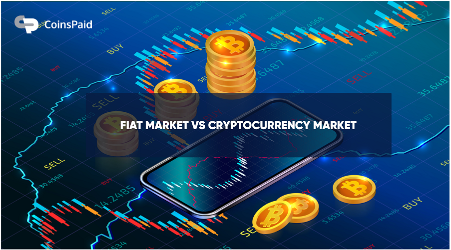 The fiat Market Vs The Cryptocurrency Market: Competition or Partnership?