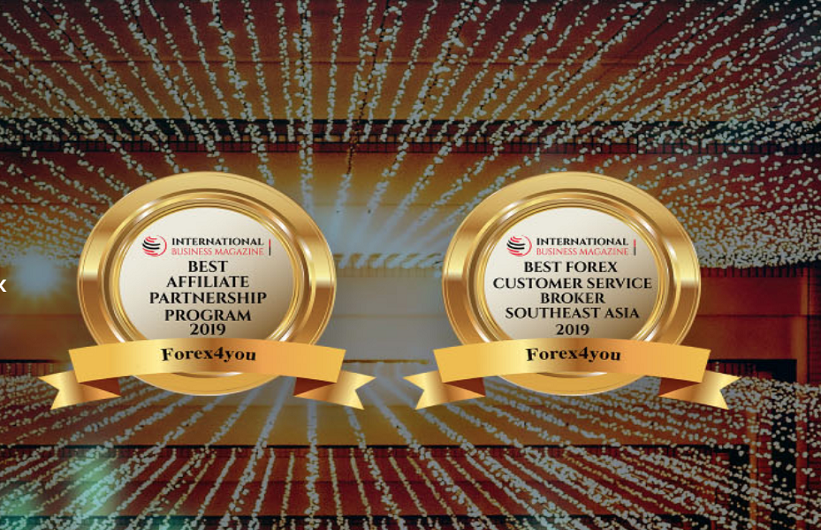 Forex4you Receives Awards for 2019