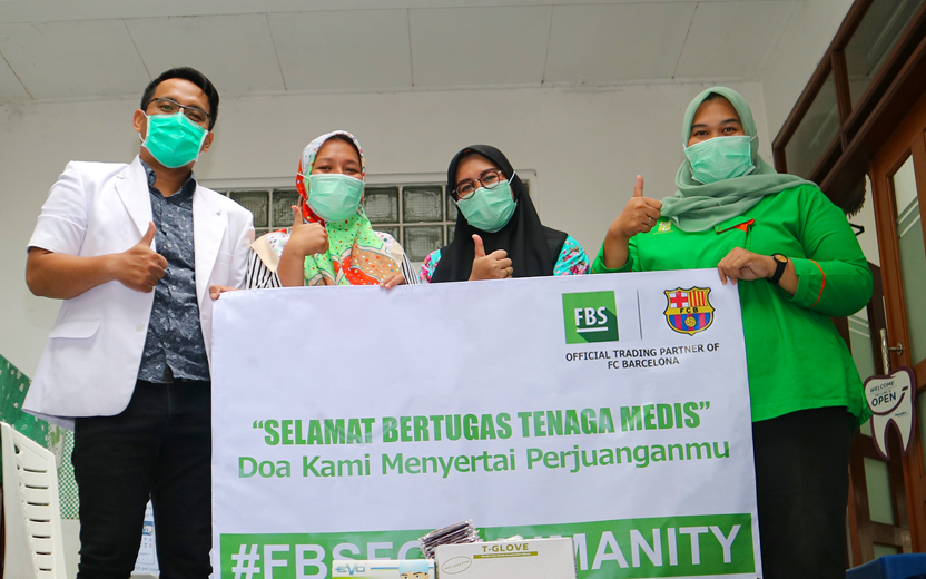 FBS Held A Charity Event to Provide Health Supplies in Indonesia