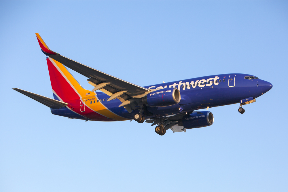 Southwest Airlines Poised to Move Higher With Domestic Bookings Picking Up Steam