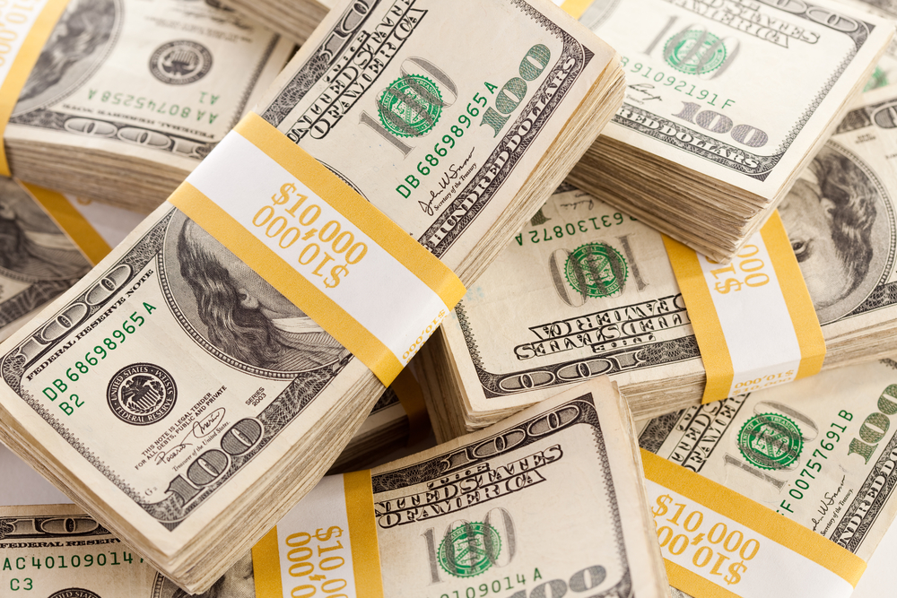 First Week of Dollar Buying in Six