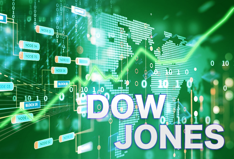 E-mini Dow Jones Industrial Average Up