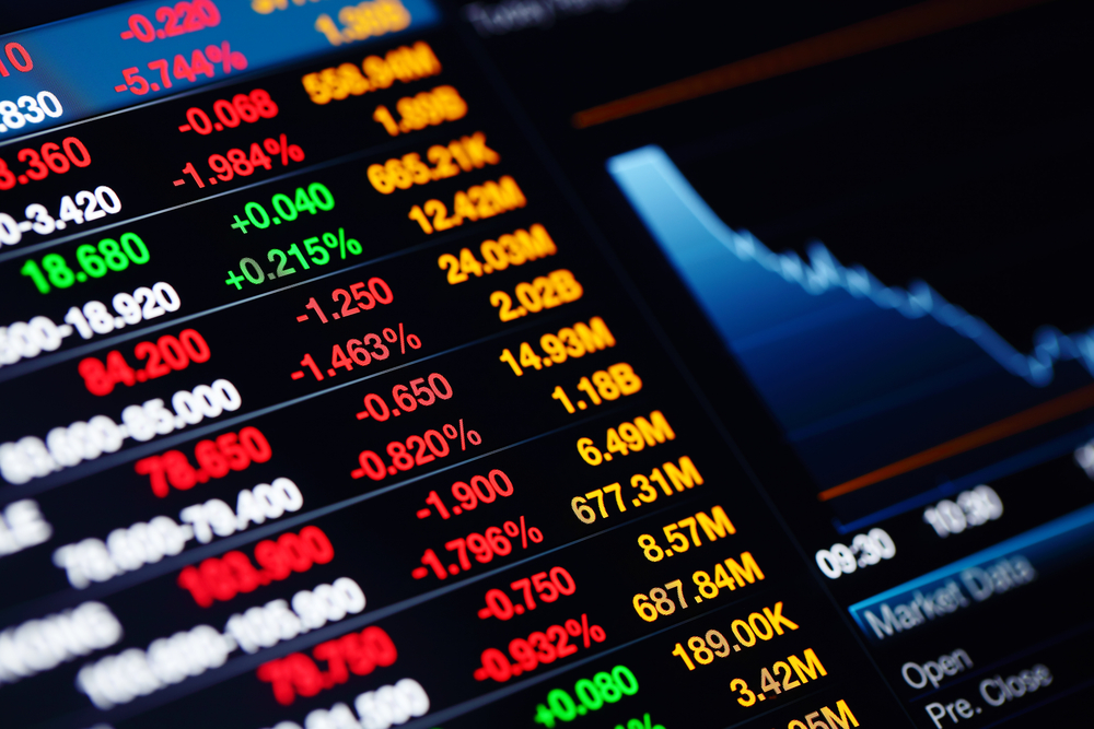 US Stock Market Overview – Stocks Rise Led by Financials; Utilities Buck the Trend