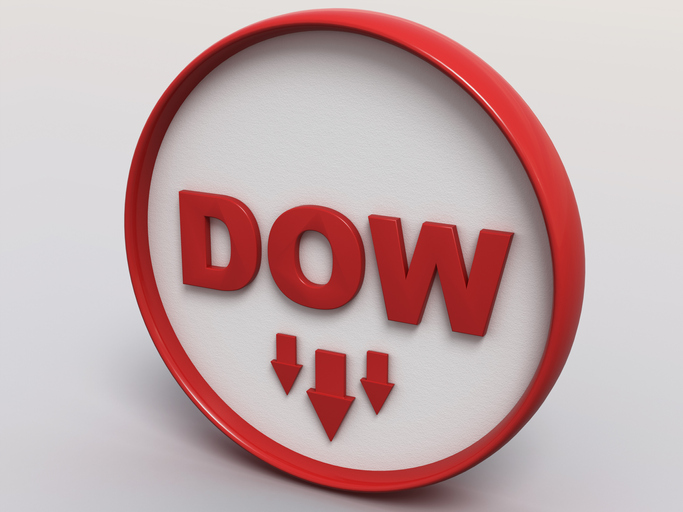 Disappointing Forecast from Cisco Systems Drags Dow Lower