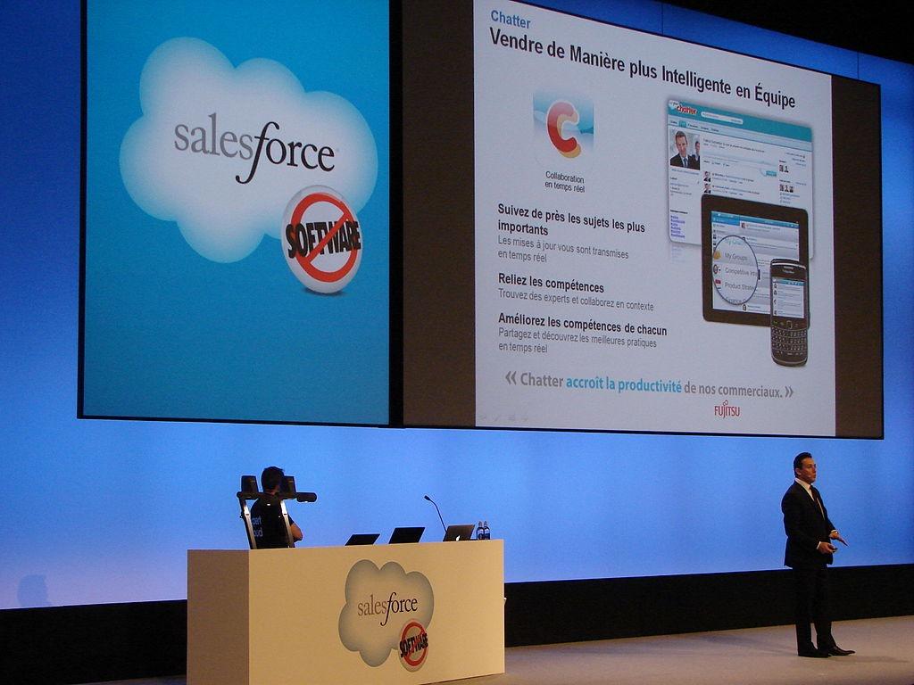 Salesforce.Com Soars After Blowout Quarter