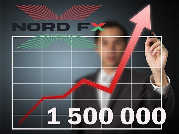 Number of Accounts Opened in NоrdFX Exceed 1.500.000