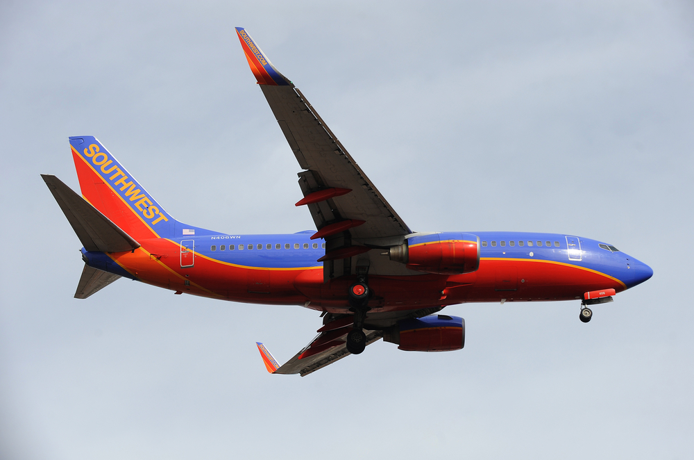 Southwest Airlines Flies Above Resistance After Lifting September Load Factor