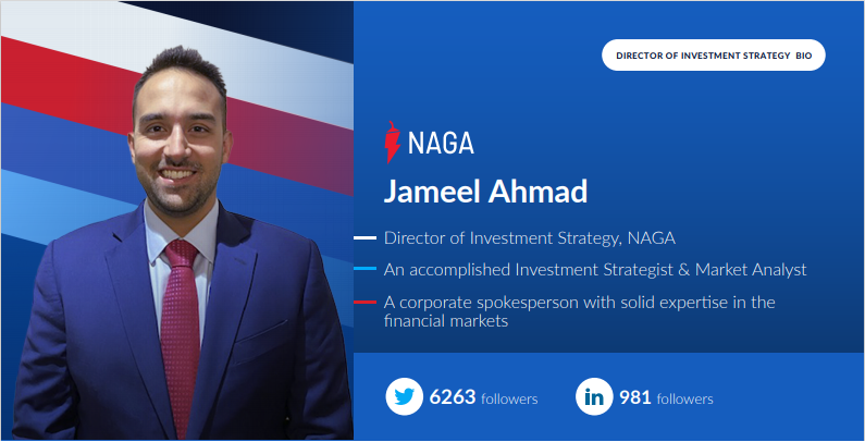 Renowned Market Analyst Jameel Ahmad Joins NAGA as Director of Investment Strategy