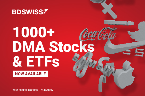 BDSwiss Expands Its Product Offering with 1000+ CFDs on ETFs and DMA Stocks