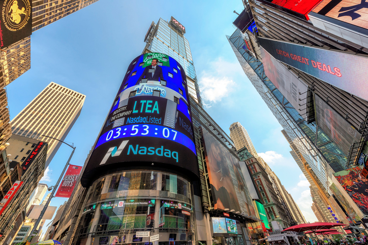 NASDAQ Hits Another Record as Dow and S&P Fall on COVID-19 Fears