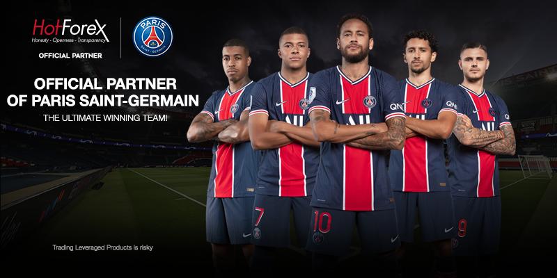 HotForex Becomes an Official Partner of Paris Saint-Germain