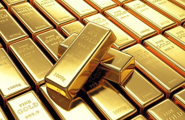 Gold Futures Close Moderately Higher All on Dollar Weakness