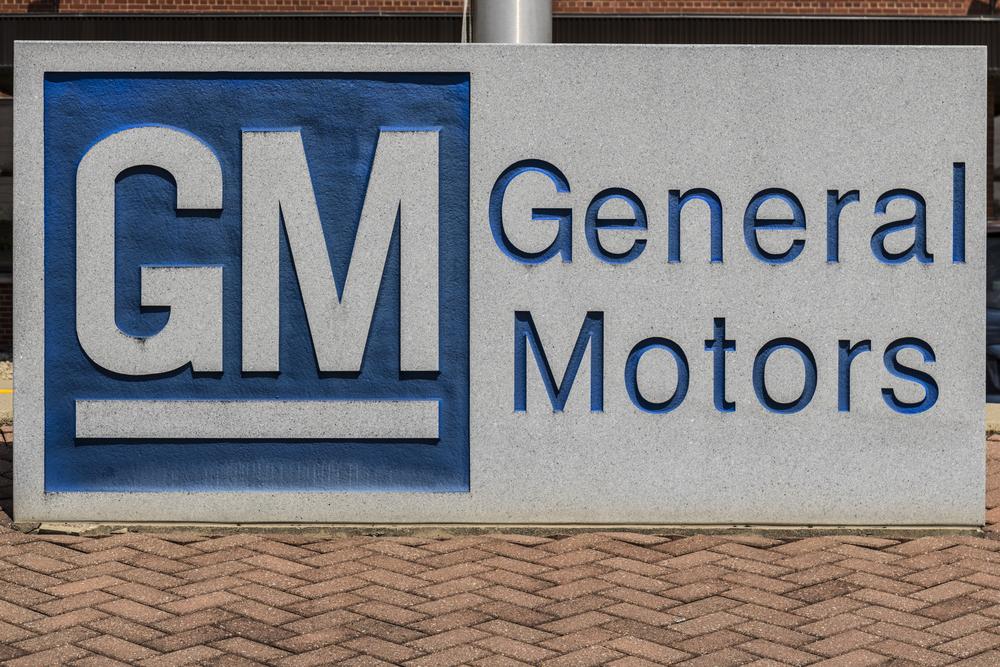 GM Sharply Lower After Profit Warning