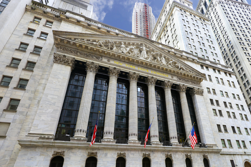 The New york Stock Exchange in New York. The largest stock excha