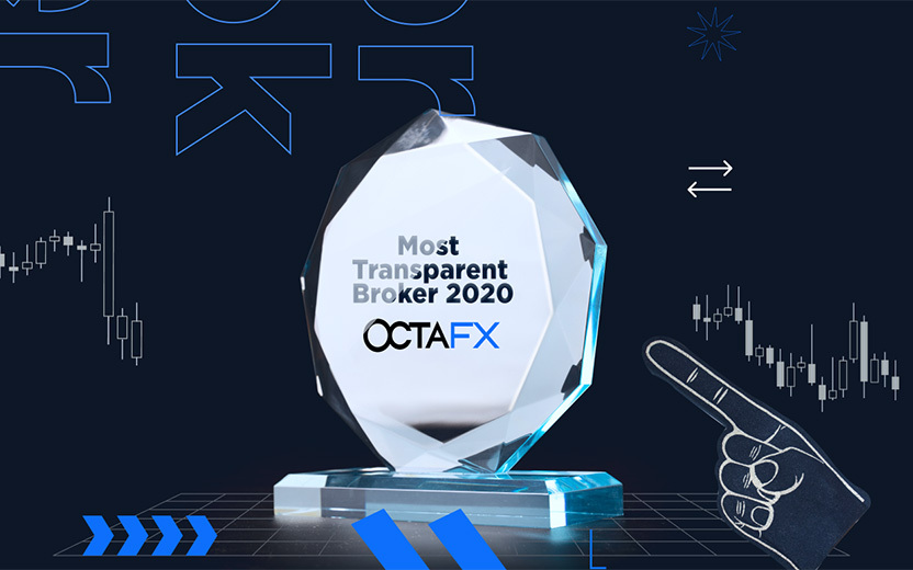 OctaFX Secures The 'Most Transparent Broker' Award For 2020
