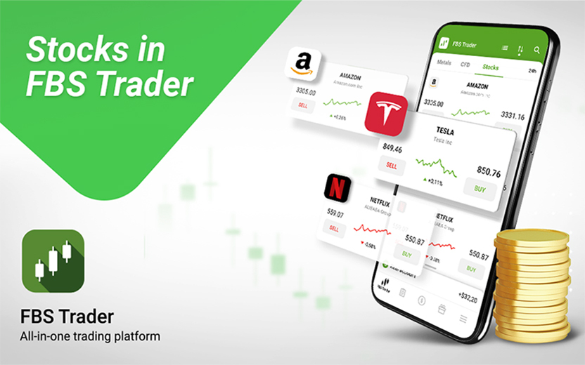 FBS Added Stocks In FBS Trader App
