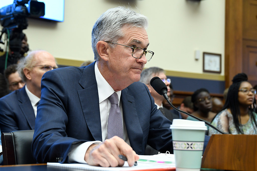 Stocks Tumble, Gold Dumps , Dollar Jumps Amid Treasury Yield Spike as Powell Signals Inflation is Ahead