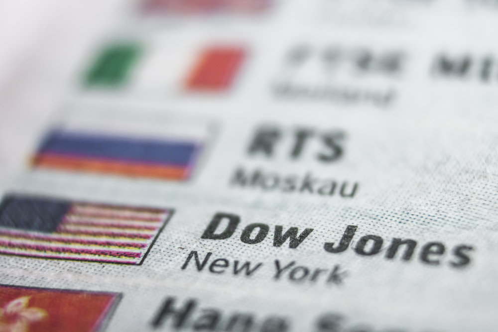 Dow Jones Index Bullish Breakout Aims at 35,000 Target