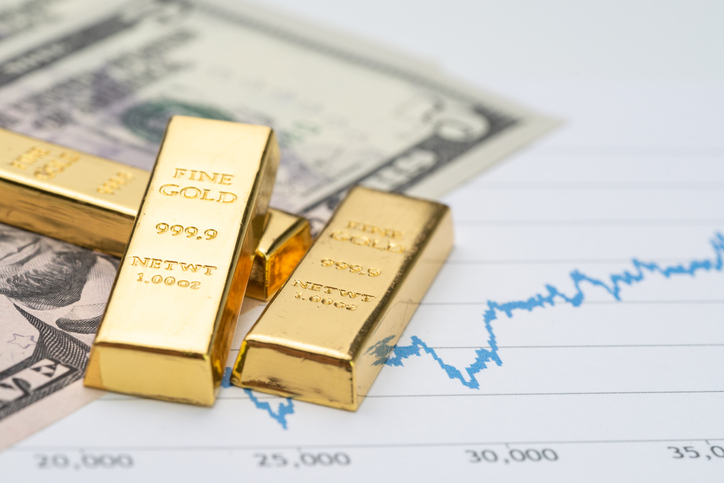 GOLD V-Shaped Reversal Opens the Way to 1770 Zone