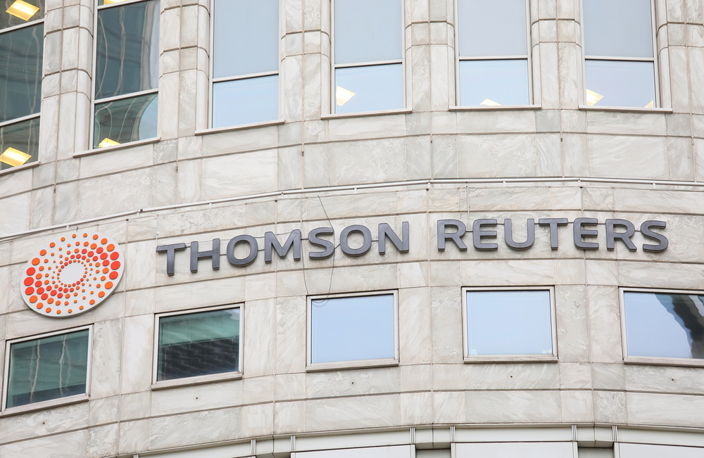 Why Shares Of Thomson Reuters Are Up By 3% Today?