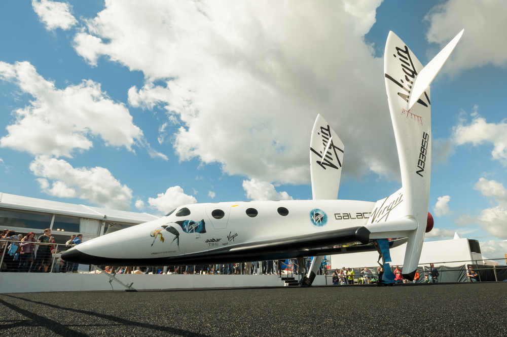 Richard Branson Went To Space. Virgin Galactic Shares Up By 9%