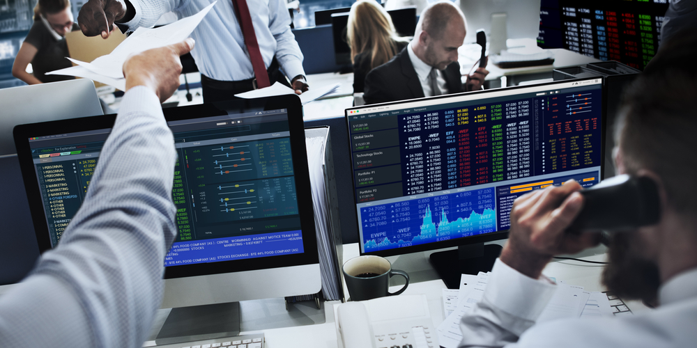 Volumes Spike As Technology Stocks Lead