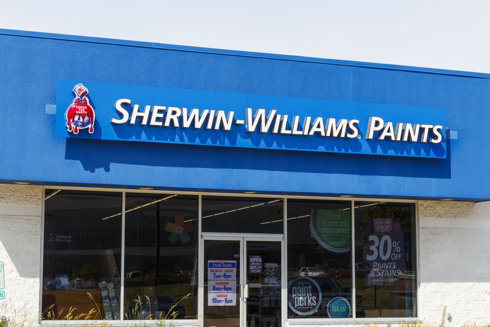 Sherwin-Williams Could Offer Low Risk Buying Opportunity