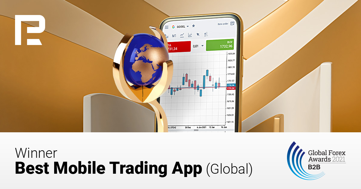 """RoboForex Receives the """"Best Mobile Trading App"""" Award from Global Forex Awards 2021 – B2B"""