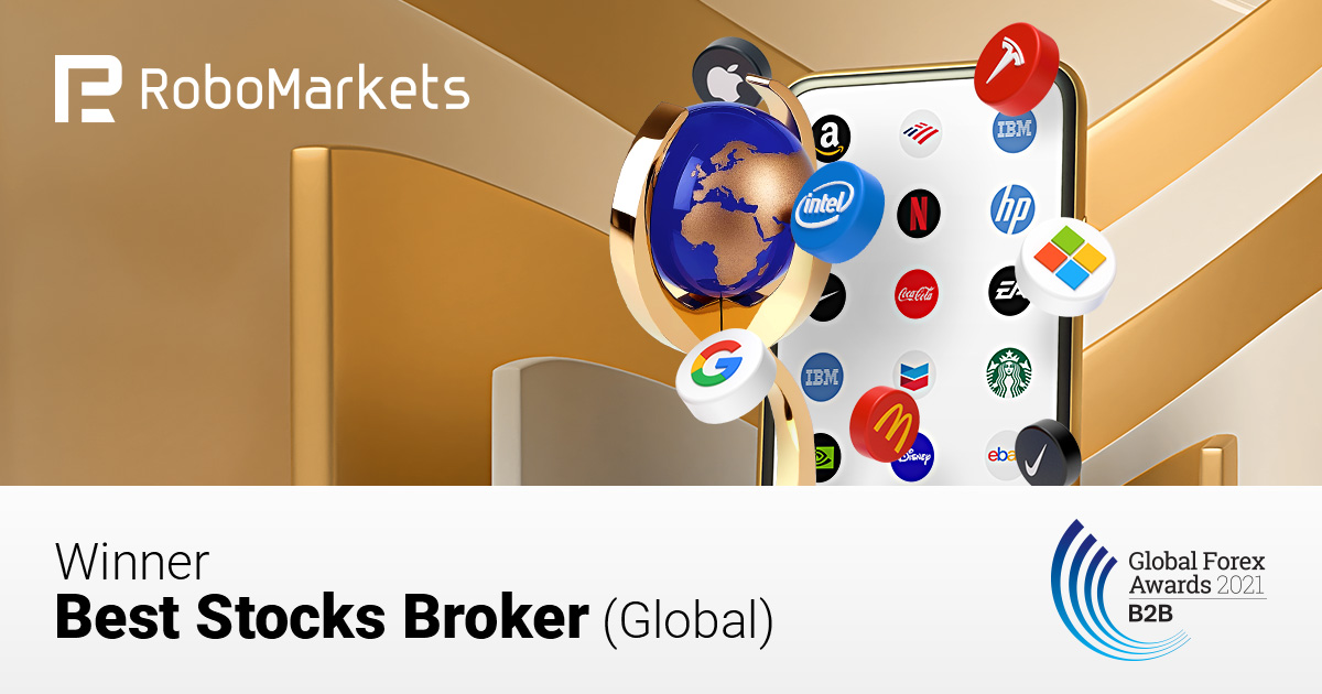 "RoboMarkets Receives the ""Best Stocks Broker"" Award from Global Forex Awards 2021 – B2B"