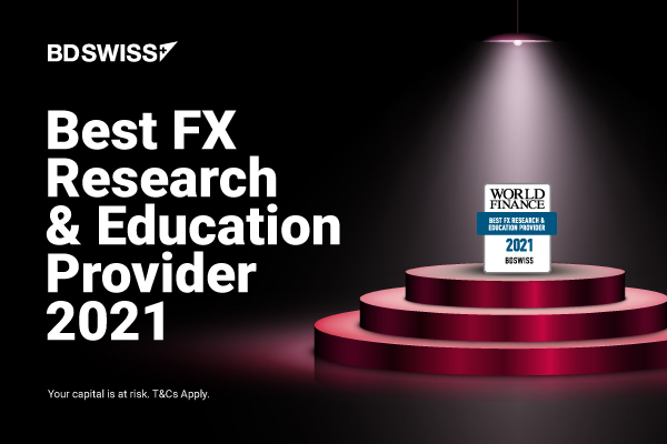 """BDSwiss wins """"Best Research and Education Provider"""" at the World Finance 2021 Forex Awards"""