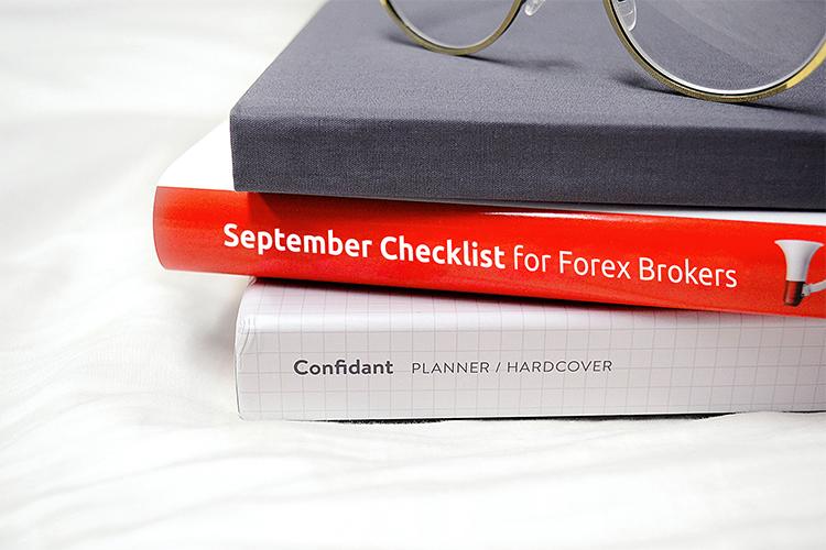 September Checklist for Forex Brokers