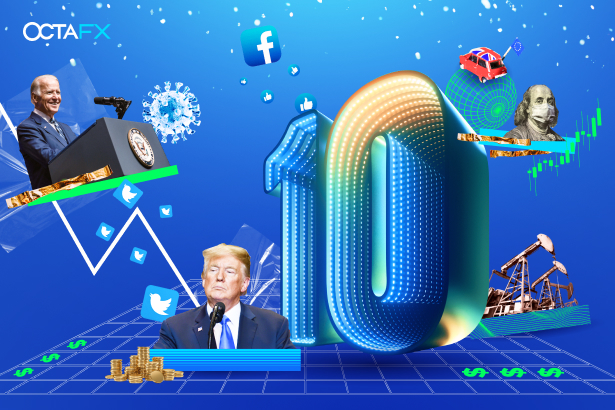 A decade of reliability urges OctaFX to recall the ten most crucial events for Forex